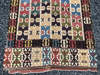 Kelim aus dem westlichen Kappadokien (Nigde / Aksaray) in Zentralanatolien, um1800 410.156cm