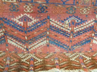 lovely Tekke ensi size 146 x 120 cm.