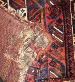 Lori large sack around 1900 - 1920.