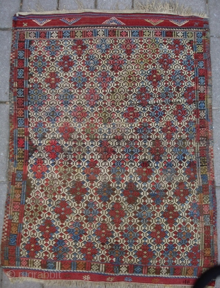 NW Anatolia sofrah 90 x 118 cm. Late 19th cent. Unusual cicim technic and in very good condition.