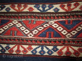 "Bergama chuval 64 x 108 cm W Anatolia, Kilaz tribe Mint condition. See Pinkwart/Steiner ""Bergama Cuvallari"" Plate 31b. More info if you ask."