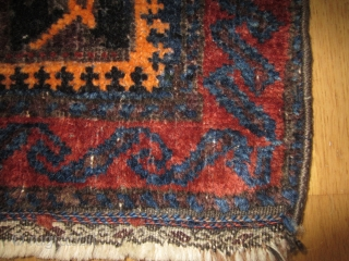 Beluch saddle bag front 52 x 43cm Long sides not original. Good cond. 20th century
