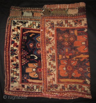 Afshar bag front 81 x 56 cm. End 19th cent. More info or photos if you ask.