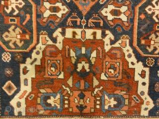 "Proto Kurdish Northwest Persian Circa 1700s  3'8"" x 6'9"""
