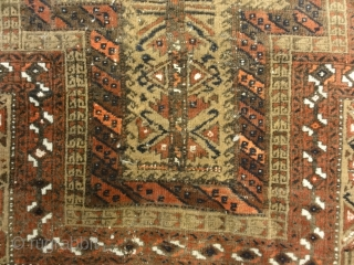 Antique Original Persian Baluch Rug. An antique, original Persian Baluch Meditation rug. Dated and used for prayer. Finest Tribal Baluch rugs can be primarily recognized by their exceptional wool quality and color  ...