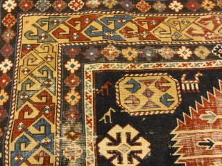 Very Old Antique Shirvan First Half of 19th Century