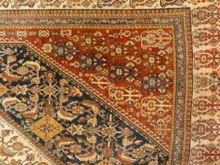 Fine Antique Qashqai Kashkuli Rug 5'8″ x 10'3″