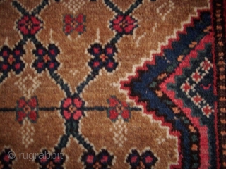 Kolyai, West Persia, ca. 1900, natural colors with camel wool, wool on wool, 121 x 198 cm