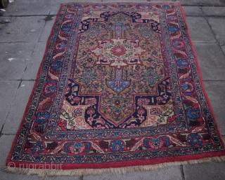 Bidjar, West-Persien, Wolle/wool, ca. 1890, 203 x 115 cm
