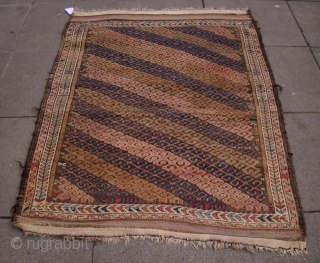 Belutsch, Aimaq with Felt-Design, Afghan, 19. Jh., 147 x 104 cm