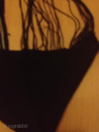 Antique finely woven /needle work 166cmx19cm