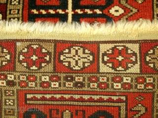 Very unusual, unique and rare yastik with very fine weaves, awesome piece at great condition, refer to photos!!