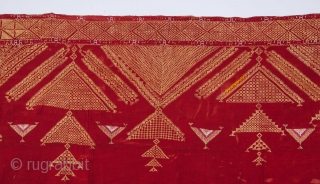 Indian Punjap Phulkari 170 x 280 cm / 5'6'' x 9'2''