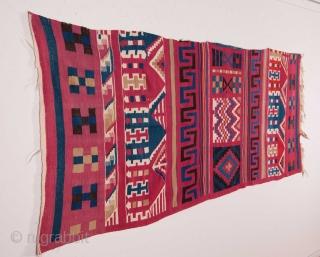 Tunisian Kilim 97 x 225 cm / 3'2'' x 7'4''