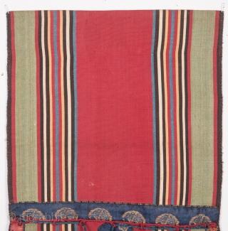 Caucasian Silk Jajim Bags 24 x 60 cm / 9.45 x 23.62 inches