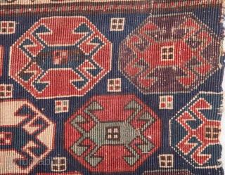 Reverse Sumak Mafrash Panel 43 x 60 cm / 1'4'' x 1'11''