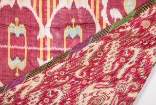 Uzbek Ikat Hanging 107 x 150 cm / 3'6'' x 4'11''