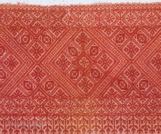 Antique Moroccan Fez Embroidery  69 x 101 cm / 2'9'' x 3'3''