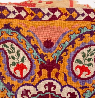 Uzbek Cross Stitched Embroidery 30 x 49 cm / 11 x 19 inches