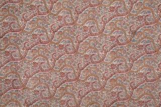 Kerman Shawl Fragment  86 x 157 cm / 2'9'' x 5'1''