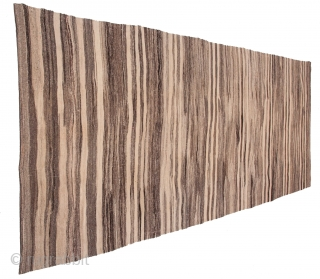 Mid Century or earlier Anatolian kilim with some texture