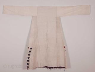 A never -used Western Anatolian Vintage Cotton Dress
