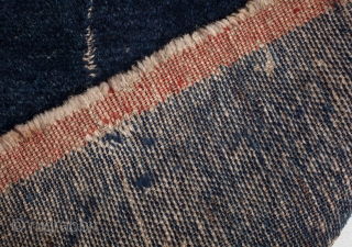 Indigo Blue Tibetan Tsutruk 26'' x 28'' / 67x75 cm
