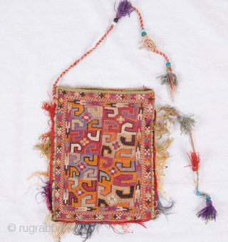 Uzbek Lakai Tea Bag 16 x 21 cm / 6.3 x 8.27 inches
