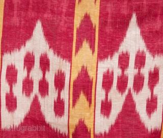 Central Asian Uzbek Ikat Shirt