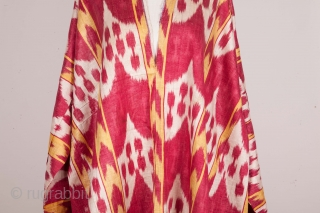 Central Asian Uzbek Ikat Shirt