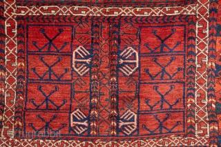 Turkmen Ersari Ensi 158 x 186 cm / 5'2'' x 6'1''