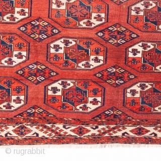 Turkmen Kyzylayak /Chobbash Main Rug 201 x 253 cm / 6'7'' x 8'3''