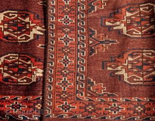 Turkmen Yomud Chuval  77x 111 cm / 2'6'' x 3'7''