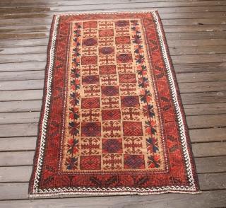 Baluch rug 89 x 160 cm / 2'11'' x 5'2''