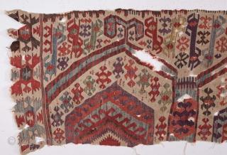 Western anatolian Kilim Fragment 77 x 198 cm / 2'6'' x 6'5''
