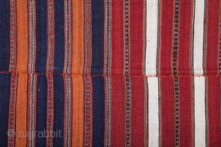 North Persian Mazandaran Area Kilim  144 x 433 cm /4'8'' x 14'2''