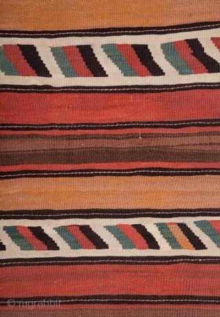 North Persian Kilim  166 x 288 cm / 5'5'' x 9'5''