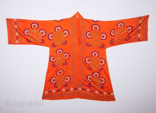 Uzbek Embroidered Shirt Late 19th / early 20th C.