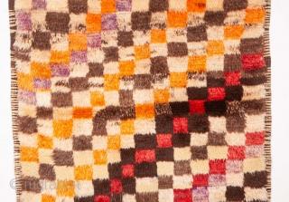 Mid 20th C. Tulu Rug from Central Anatolia, Turkey 112 x 190 cm / 3'8'' x 6'2''