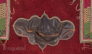 South West Anatolian Felt and Leather Saddle