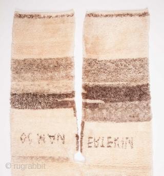 Central Anatolian Vintage Shepeard's Kepenek ( coat ) 120 x 260 cm / 3'11'' x 8'6''