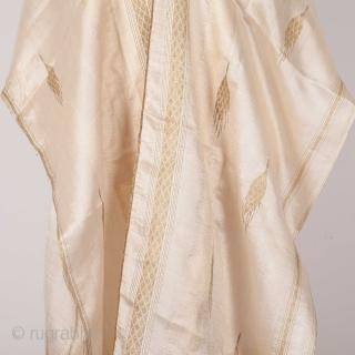 Syrian Sheer Silk Aba Early 20th C.