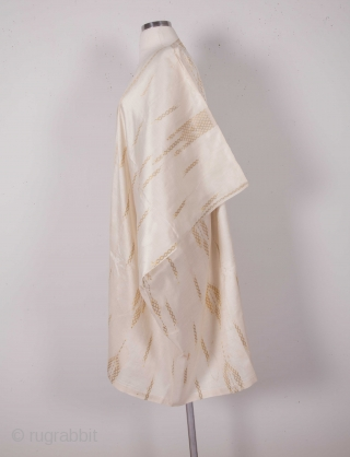 Syrian Silk Aba Early 20th c.