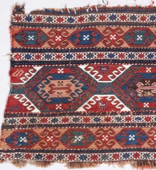 Caucasian Sumak Mafrash Panel 44 x 104 cm / 1'5'' x 3'4''