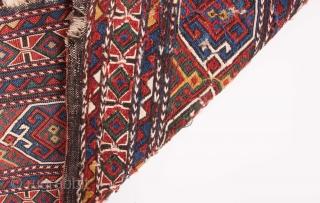 Reverse sumak Mafrash Panel 39 x 107 cm / 1'3'' x 3'6''