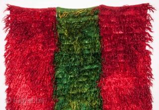 Central Anatolian Vintage Angora Filikli Rug 132 x 176 cm / 4'3'' x 5'9''