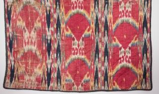 Uzbek Ikat Panel 86 x 104 cm / 2'9'' x 3'4''