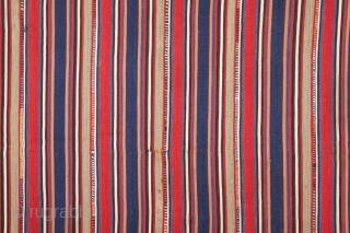 Shahsavan Wool Jajim 206 x 212 cm / 6'9'' x 6'11''