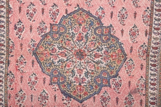 Qalamkari Quilt , Perisa 83 x 130 cm / 2'8'' x 4'3''