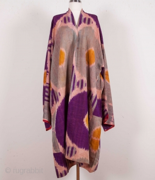 Uzbek Ikat Shirt Early 20th C.